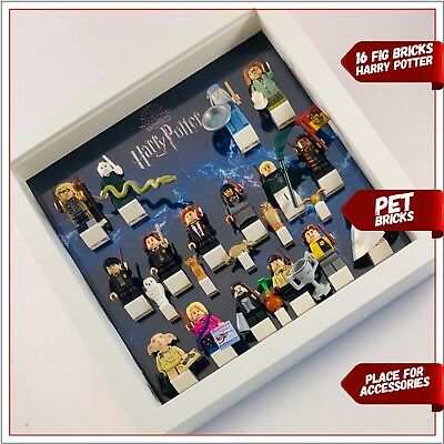 Minifigure Display Frame for Lego Harry Potter Fantastic Beasts minifigs figures