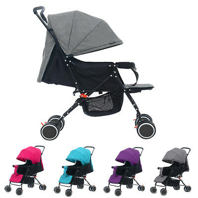 Foldable Pram Pushchair Newborn Baby Stroller Buggy Carriage Infant Travel Car#4