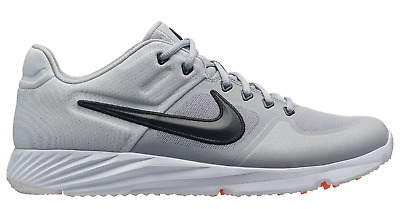 27375aee0086 NEW! NIKE ALPHA HUARACHE ELITE 2 TURF - 6877002 Wolf Grey Black Pure ...