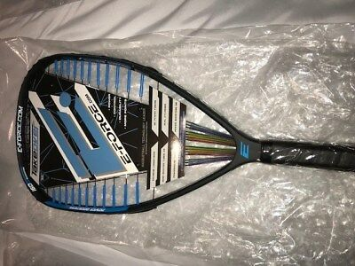 E-Force Takeover 160 Racquetball Racquet Brand New Model!! With Warranty