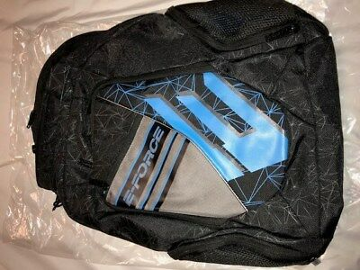 E-Force Racquetball Backpack  Black/blue Totaly New 18/19 Model