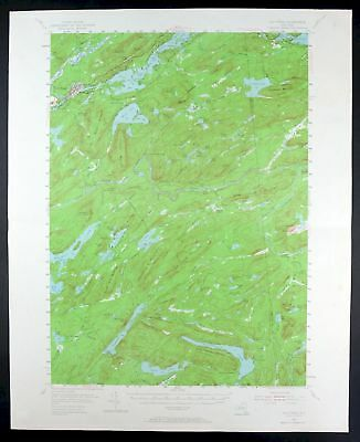 1954 Old Forge New York Vintage Original 15-minute USGS Topo Topographic Map