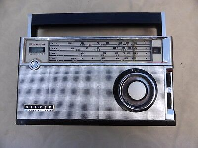 Silver 4 Band All Wave Radio - Vintage - Made in Japan