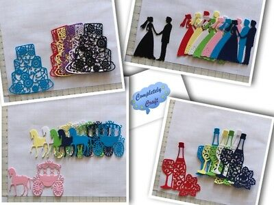 Wedding Theme Die Cuts - card, scrapbooking, embellish, toppers