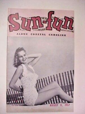 1957 Sun-Fun magazine Myrtle Beach SC
