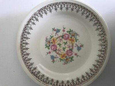 Edwin Knowles 1949 USA Lunch Plates Set of 4