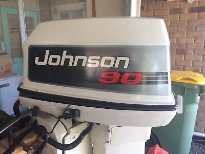 Outboard Johnson 90hp