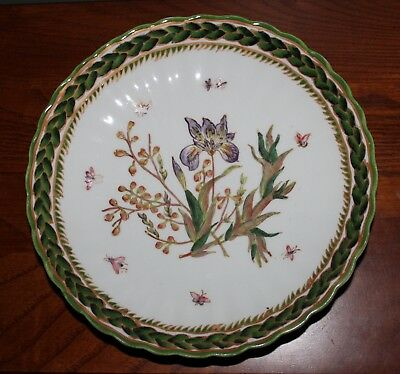 "Vintage Botanical/nature Theme Decorative Plate Two'S Company 8 ¼"" Diameter"