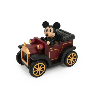Disney Mickey Mouse Classic Vintage Car Music Box - Disney Music Box Collection