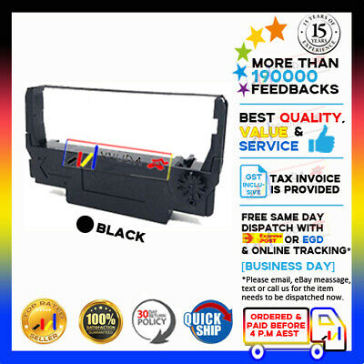 15 NEW Compatible BK Ribbon fits for ADP-200/300/400 Epson Kitchen SRP-270/275