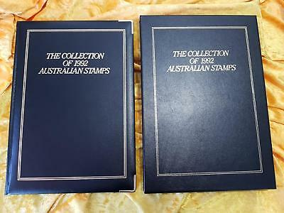 AUSTRALIA POST YEARBOOK 1992 EXECUTIVE BLACK LEATHER - NO STAMPS - PERFECT Cond.