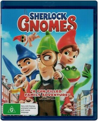 """SHERLOCK GNOMES"" Blu-ray Region [B] Brand New"