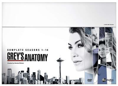 Greys Anatomy Complete Season 1 2 3 4 5 6 7 8 9 10 11 12 13 14 New DVD Box Set