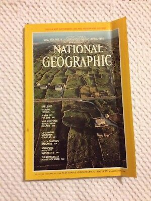 National Geographic Magazine -  Vol.159, No 4 - April 1981