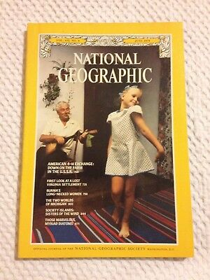 National Geographic Magazine - Vol. 155, No. 6 - June 1979.