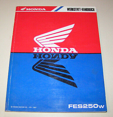 Manuale Officina Honda Moto Scooter Fes 250 Pantheon - Stand 1997