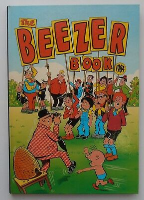 The Beezer Book 1984 Colonel Blink Little Mo Badd Lads Numskulls Hugh's Zoo