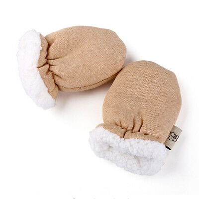 Comfy Newborn Baby Boy Girl Fleece Gloves Infant Warm Mittens Autumn Winter New