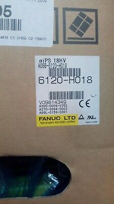 fanuc power supply amp a06b-6120-h018