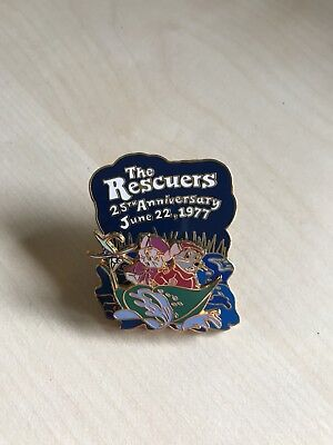 Disney Trading Pin The Rescuers 25th Anniversary Limited Edition