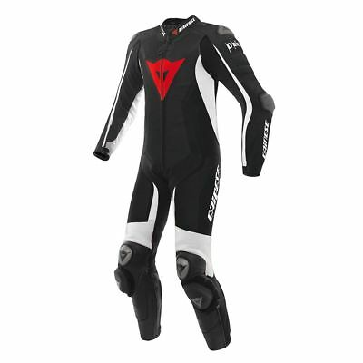 CHEAP Dainese D-Air Racing Misano Airbag 1-Piece Leather Motorcycle Suit | EU52