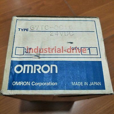 NEW IN BOX Omron PLC G7TC-OC16 for Relay type 24VDC 1 year warranty #