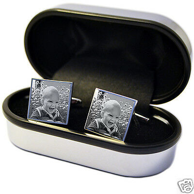 Photo Cufflinks Personalised idea for Best Man, Wedding, Valentine's day gift