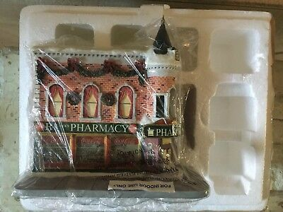 "Coca-Cola Holiday Village Collection No A02120 Hawthorne ""St. Nick's Pharmacy"""