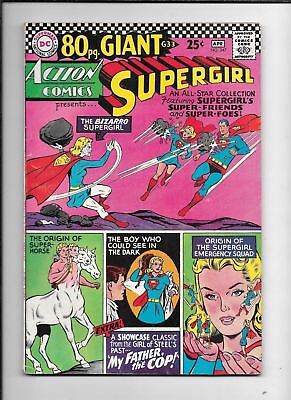 Action Comics #347 ==> Fn/vf Bizarro Supergirl Dc Comics 1967