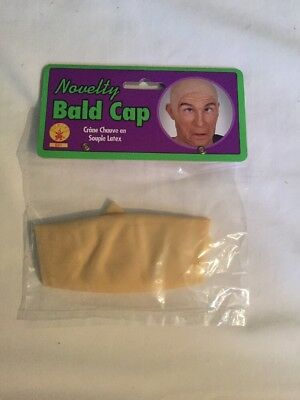 NEW Halloween Adult Bald Cap for Costume Free Shipping