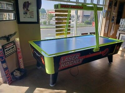 8' Air Hockey Commercial Grade - Used - Dealer - The Game Room Store, N.j. 07728