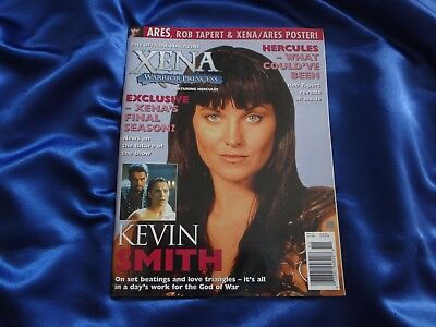 RARE Official Xena Magazine Issue 11 (10-2000) w/ Xena Lucy Lawless  Kevin Smith