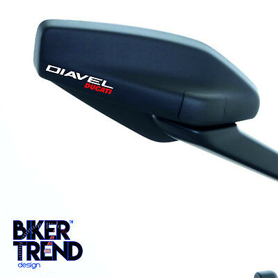 DUCATI DIAVEL  Decal Sticker MIRROR Detail-Best Quality