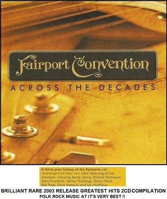 Fairport Convention - Very Best Essential Greatest Hits Collection 2CD Folk Rock