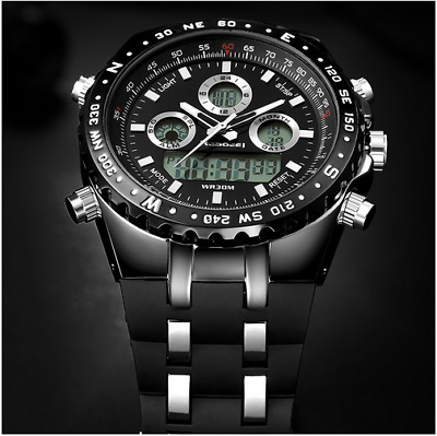 2018 Watch Men Fashion Sport Quartz Mens Watches Top Brand Luxury Led Digital