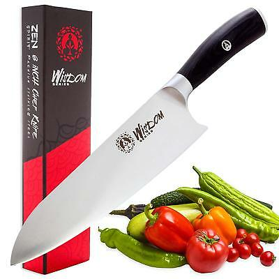 Chef Knife - Professional 8 Inches, High Carbon Stainless Steel, Ultra Sharp and