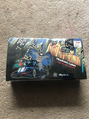 SkyBox Brand Batman, Robin Trading Cards,1 box sealed, other box 35 sealed pkts