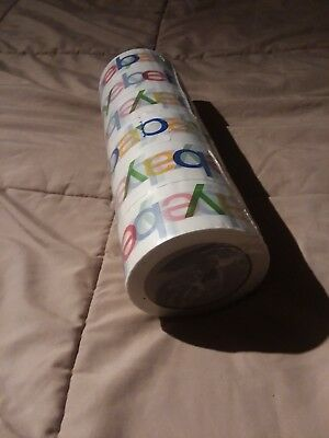 6 ROLLS OF OFFICIAL EBAY BRANDED PACKING TAPE SHIPPING SUPPLIES 75' x 2""