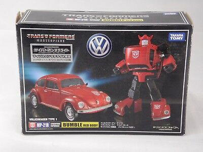 Red Body Transformers Masterpiece MP-21R Bumblebee Coin Only US Seller