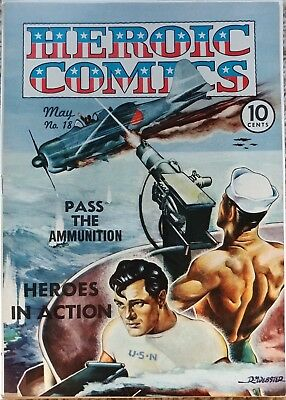 Heroic Comics #18 Vf+ 8.5 File Copy Eastern Color 5/1943