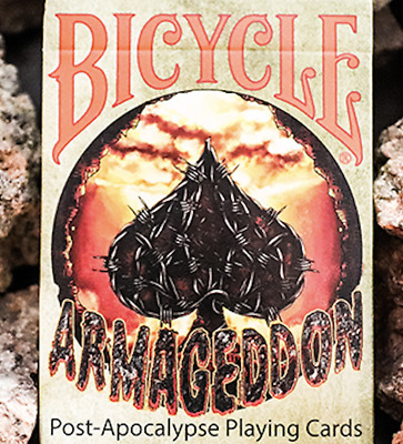 Bicycle Armageddon Post-Apocalypse Playing Cards - LIMITED