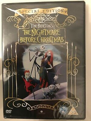 The Nightmare Before Christmas Special Edition (DVD, 2006) (Brand New & Sealed)