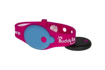 My Buddy Tag with Silicone Wristband, Pink by My Buddy Tag. BRAND NEW