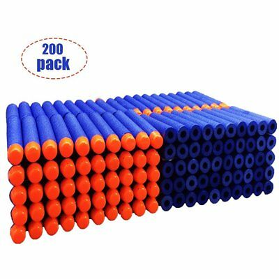 200Pcs 7.2cm Refill Foam Darts For Nerf N-strike Elite Series Blasters Toy Gun