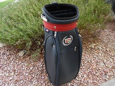 69c7619fd24e Burton Ryder Cup Cadillac The Belfry Golf Bag Made in the USA  Rare Collectable