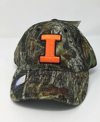 best loved 02d2d 1c570 University of Illinois Hat - Fighting Illini Camo Cap Mossy Oak Orange I