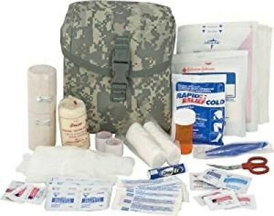 ACU First Aid Kit STOCKED! First Responder Military Tactical Gunshot EMT Medical