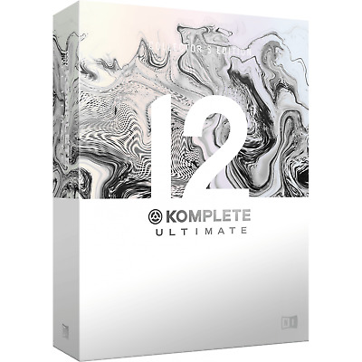 Native Instruments Komplete 12 Ultimate Collector's Edition (Boxed)
