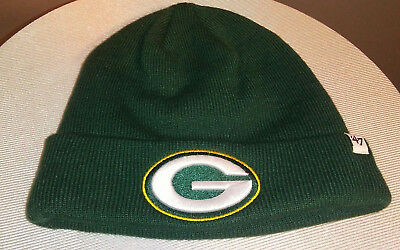 57c19580e1d GREEN BAY PACKERS 47 Brand NFL Raised Cuff Knit Green Winter Hat ...