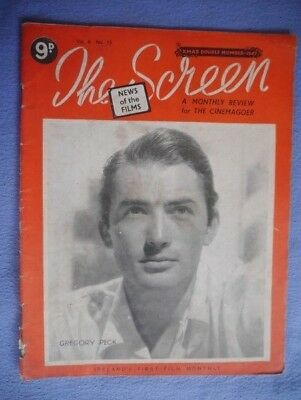 The Screen Xmas 1947. Ireland's First Film Monthly